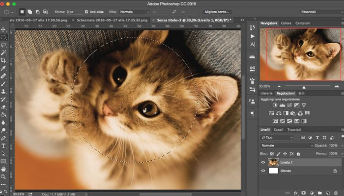 Come selezionare su Photoshop - Gli Strumenti Selezione