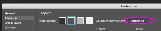 Modificare Colore selezione livelli Photoshop